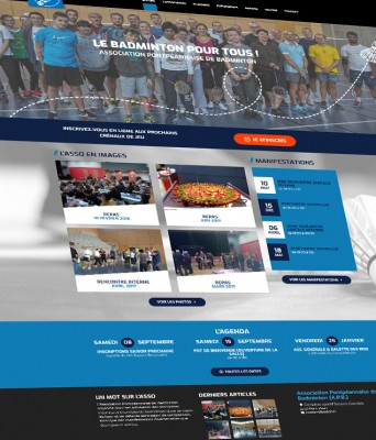 Site internet club sportif